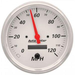 Auto Meter Arctic White Speedometer 5″ Electrical