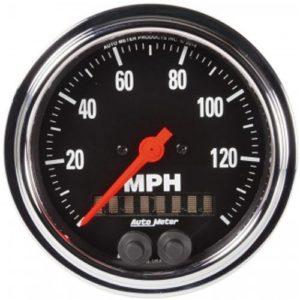 Auto Meter Traditional Chrome GPS Speedometer 3-3/8″
