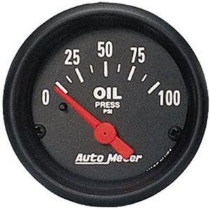 Auto Meter Z-Series Oil Pressure Gauge 2-1/16″ Electrical