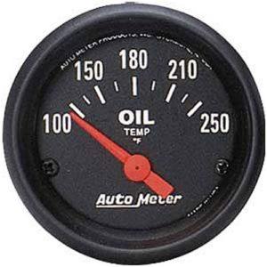 Auto Meter Z-Series Oil Temperature Gauge 2-1/16″ Electrical