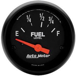 Auto Meter Z-Series Fuel Level Gauge 2-1/16″ Electrical
