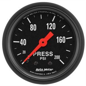 Auto Meter Z-Series Pressure Gauge 2-1/16″ Mechanical