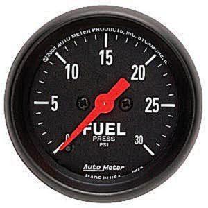 Auto Meter Z-Series Fuel Pressure Gauge 2-1/16″ Electrical