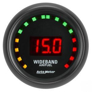 Auto Meter Z-Series Air/Fuel Ratio Gauge 2-1/16″ Digital Wideband