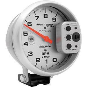 Auto Meter Ultra-Lite Single-Range Tachometer 5″, pedestal mount