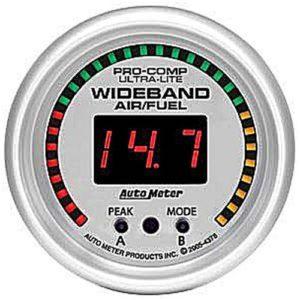 Auto Meter Ultra-Lite Wideband Air/Fuel Gauge 2-1/16″ digital