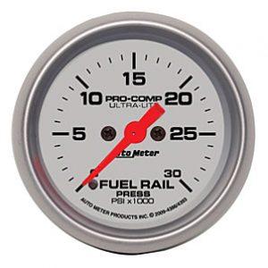 Auto Meter 2-1/16 Ultra-Lite Diesel Fuel Rail Pressure 2-1/16″ electrical