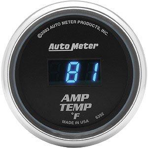 Auto Meter 2-1/16″ Cobalt Digital Amp Temperature Gauge 0° to 250° F
