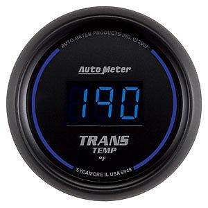Auto Meter 2-1/16″ Cobalt Digital Transmission Temperature Gauge 0° to 340° F