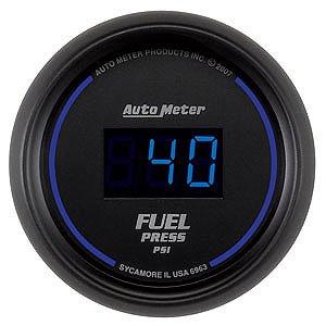 Auto Meter 2-1/16″ Cobalt Digital Fuel Pressure Gauge 5-100 psi
