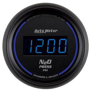 Auto Meter 2-1/16″ Cobalt Digital Nitrous Pressure Gauge 0-1600 psi