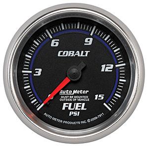 Auto Meter Cobalt Fuel Pressure Gauge 2-5/8″ Mechanical