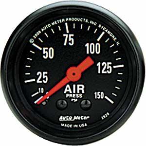 Auto Meter Z-Series Air Pressure Gauge 2-1/16″ Mechanical