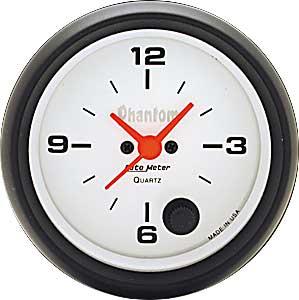 Auto Meter Phantom Clock 2-5/8″ electrical