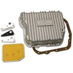 B&M Cast Aluminum Deep Transmission Pan TF727/518/618/48RE Cummins