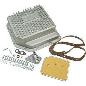 B&M Cast Aluminum Deep Transmission Pan GM TH350