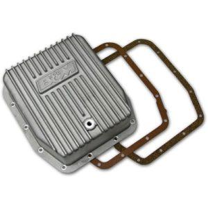 B&M Cast Aluminum Deep Transmission Pan Ford AOD/AODE/4R70W