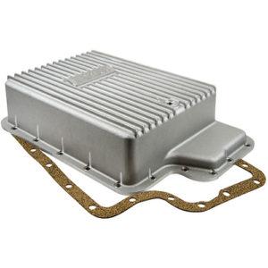 B&M Cast Aluminum Deep Transmission Pan Ford E4OD/5R100/4R100 w/Torque Shift 5-Speed