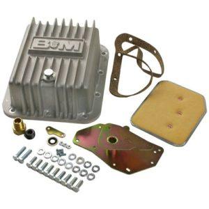 B&M Cast Aluminum Deep Transmission Pan Ford C4