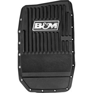 B&M Cast Aluminum Deep Transmission Pan Ford 6R80