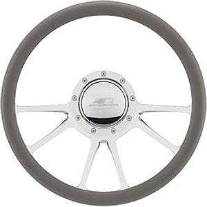 """Billet Specialties 14″ Steering Wheel """"Edge"""" Pattern"""