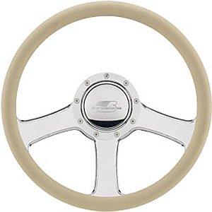 "Billet Specialties 14″ Steering Wheel "" Anthem"" Pattern"