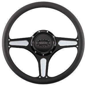 """Billet Specialties 14″ Steering Wheel """" Street Lite"""" Pattern"""