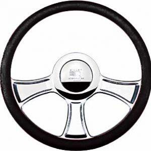 """Billet Specialties 14″ Steering Wheel """"Chicayne"""" Pattern"""