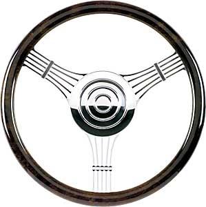 "Billet Specialties 14″ Steering Wheel ""Banjo"" Pattern"