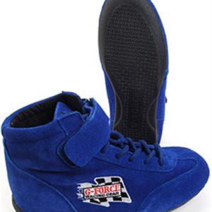 G-FORCE GF235 RaceGrip Mid-Top Racing Shoes Blue
