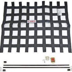 G-FORCE Ribbon Window Net Kit Black Window Net