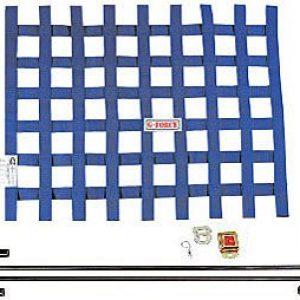 G-FORCE Ribbon Window Net Kit Blue Window Net