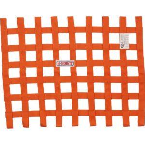 G-FORCE Ribbon Window Net Orange