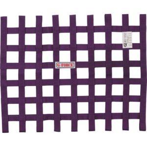 G-FORCE Ribbon Window Net Purple