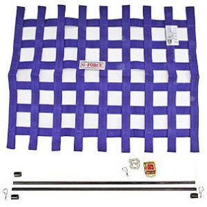 G-FORCE Ribbon Window Net Kit Purple Window Net