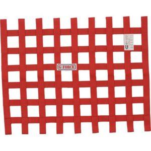G-FORCE Ribbon Window Net Red