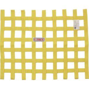 G-FORCE Ribbon Window Net Yellow