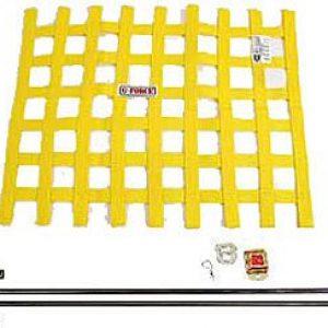 G-FORCE Ribbon Window Net Kit Yellow Window Net