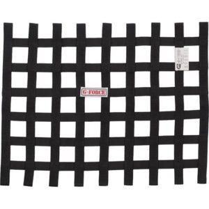 G-FORCE Ribbon Window Net Black