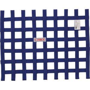 G-FORCE Ribbon Window Net Blue