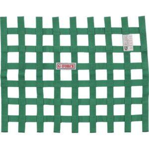 G-FORCE Ribbon Window Net Green