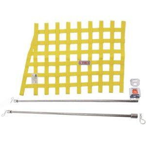 G-FORCE Yellow Angle Ribbon Window Net Kit Includes: Ribbon Window Net