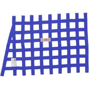 G-FORCE Angle Ribbon Window Net Blue