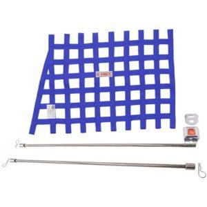 G-FORCE Blue Angle Ribbon Window Net Kit Includes: Ribbon Window Net