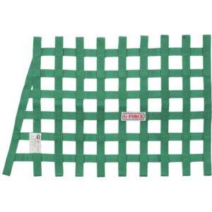 G-FORCE Angle Ribbon Window Net Green