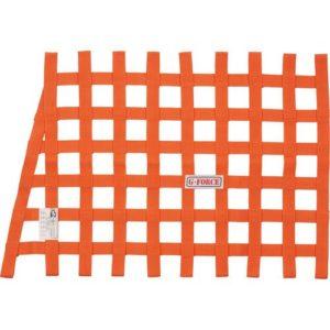 G-FORCE Angle Ribbon Window Net Orange
