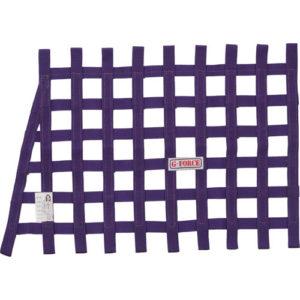 G-FORCE Angle Ribbon Window Net Purple