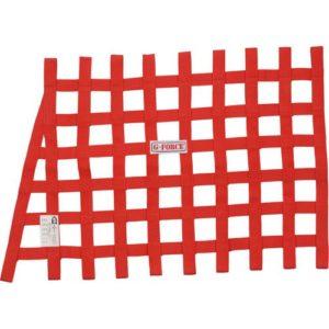 G-FORCE Angle Ribbon Window Net Red