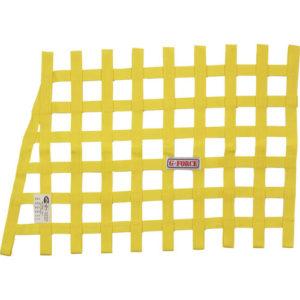 G-FORCE Angle Ribbon Window Net Yellow