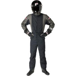 G-FORCE GF745 One-Piece Suit Black/Gray